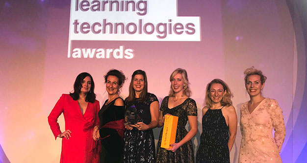TrainTool en Rode Kruis winnen zilveren 'Excellence in the design of learning content' award